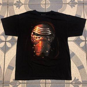 NWOT Star Wars Kylo Ren Big Head Graphic Tee Sz L